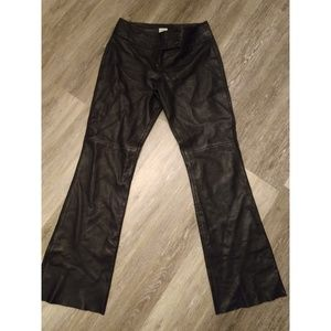 Soft leather pants size 6